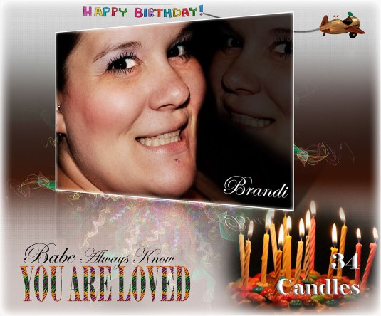 Happy Birthday Brandi