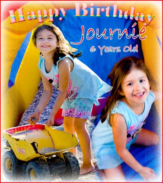 Happy Birthday Journie