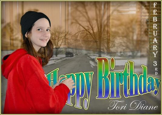 Tori 13 Birthday